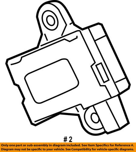 HONDA OEM TPMS Tire Pressuring Monitoring-Antenna 39360TL2A11
