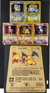 pokemon-karte-charizard-rare-free-5x-glurak-turtok-bisaflor-mewtwo-blastois-mew