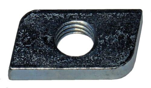 100 Stück Schiebemuttern M8 f C-Profile 27x18 Profil A