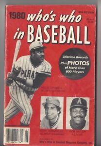 1980-Who-039-s-Who-in-Baseball-Magazine-Willie-Stargell-Pittsburgh-Pirates-FAIR