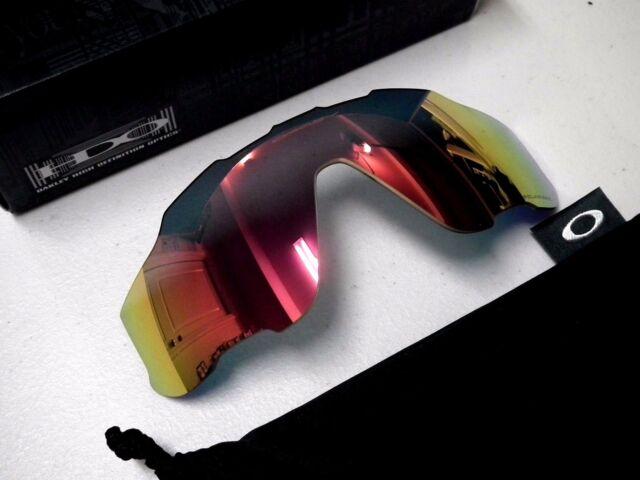 9de3cc01049 Authentic Oakley Jawbreaker Polarized Ruby Iridium Replacement Lens  101-352-018