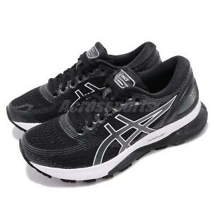 Asics-Gel-Nimbus-21-Black-Grey-White-Women-Running-Shoes-Sneakers-1012A156-001