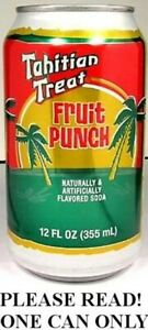 Tahitian-Treat-USA-2011-FULL-12oz-Can-American-Dr-Pepper-Sparkling-Fruit-Punch