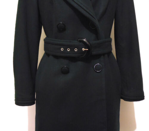 Cappotto Woman m 44 Cashmere Giulia Valli Donna Wool Lana Coat Sz 5gn1q