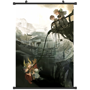 2923 Anime Made in Abyss Wall Poster Scroll Home Decor cosplay A