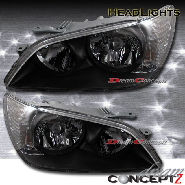 2001 2002 2003 2004 2005 Lexus IS300 Black style headlights HID/xenon model only