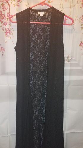 Lace floral Joy Motif Nouveau Taille Solid Black Nwt Lularoe New Noir ZWpFvIS