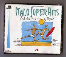 2 cds-sampler  ITALO SUPER HITS © 1991 # 354 152-263 bmg ariola TOTO CUTUGNO