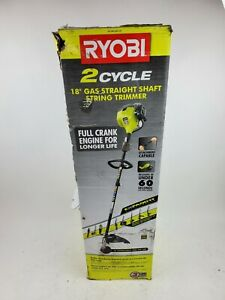 Ryobi 2 Cycle 18 Gas Straight Shaft String Trimmer Ry253ss Read Description 46396012074 Ebay