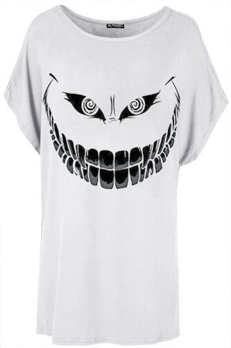 Mesdames Femmes Baggy Lagenlook Surdimensionné Batwing Sleeve Loose T shirt Top Plus Size