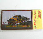 VINTAGE NT ROAD TRAIN AUS EMBROIDERED SOUVENIR PATCH WOVEN CLOTH SEW-ON BADGE