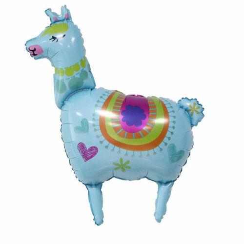 Alpaca Llama Foil Balloon Party Mexican Summer Aloha Hawaiian Tropical