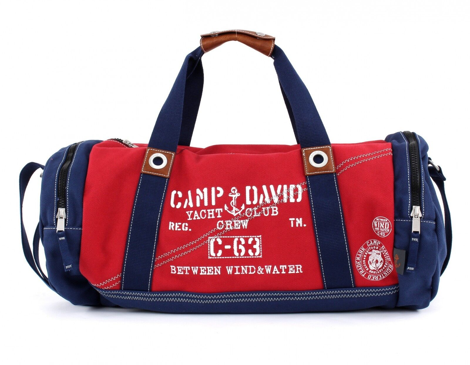 CAMP DAVID Bolsa Para Cadáveres Cruz Deep River Weekender rosso
