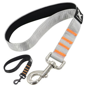 Short-Dog-Lead-for-Large-Dogs-Padded-Handle-37cm-Close-Control-Strong-Pet-Leash