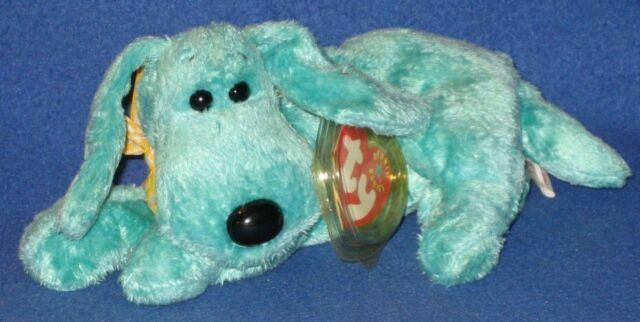 Ty Beanie Baby Diddley MWMT Dog 2000