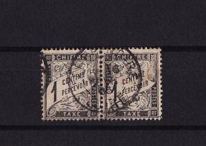 timbre-France-TAXE-Duval-1c-noir-num-10-oblitere-paire