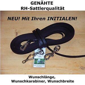 BioThane-Schleppleine-GENAHT-NICHT-NUR-GENIETET-Sprenger-Faehrtenleine-Suchleine