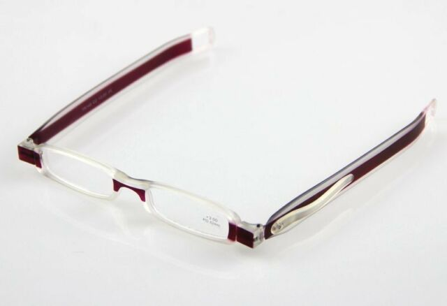 Slim mini Folding fashion reading glasses eyeglass Reader +1.5 +2.0 +3.0 +3.5