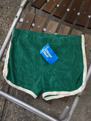 Vintage Deadstock 70s Terrycloth Short Shorts Size