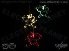 Monkey Light-Up LED Colour-Changing Mobile - Battery Powered