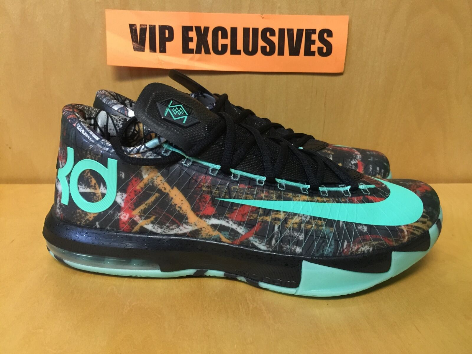 Nike Zoom KD VI 6 ASG ALL STAR GAME 647781-930 Durant NOLA GUMBO LEAGUE