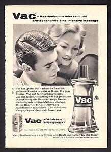 3w2288/Old Advertising 1960-Vac haartonicum-your hair needs it!