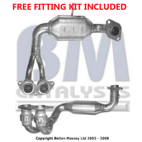 Fitting Kit Included Fit with TOYOTA MR2 Catalytic Converter Exhaust 91053H 1.8