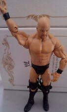 Stone Cold Steve Austin WWE WWF Mattel Wrestling Figur 2011 with kneebraces