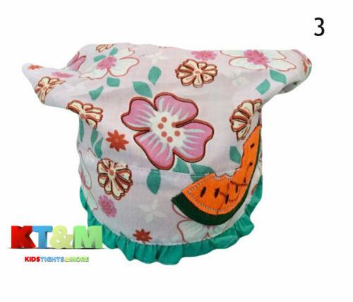 Toddler Ragazza Estate Spiaggia Vacanza Cotone Hat Cap Velo Pois 12M-3 anni