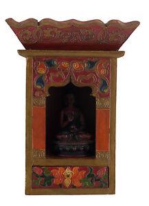 Tempio-Altare-Tibetano-Scatola-Per-Soprammobile-Budda-Tibet-29x21-CM-Tibet-25306