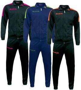 Completo-Tuta-GIVOVA-New-Revolution-Fluo-Bambino-Uomo-Donna-Unisex-Sport-GIOSAL