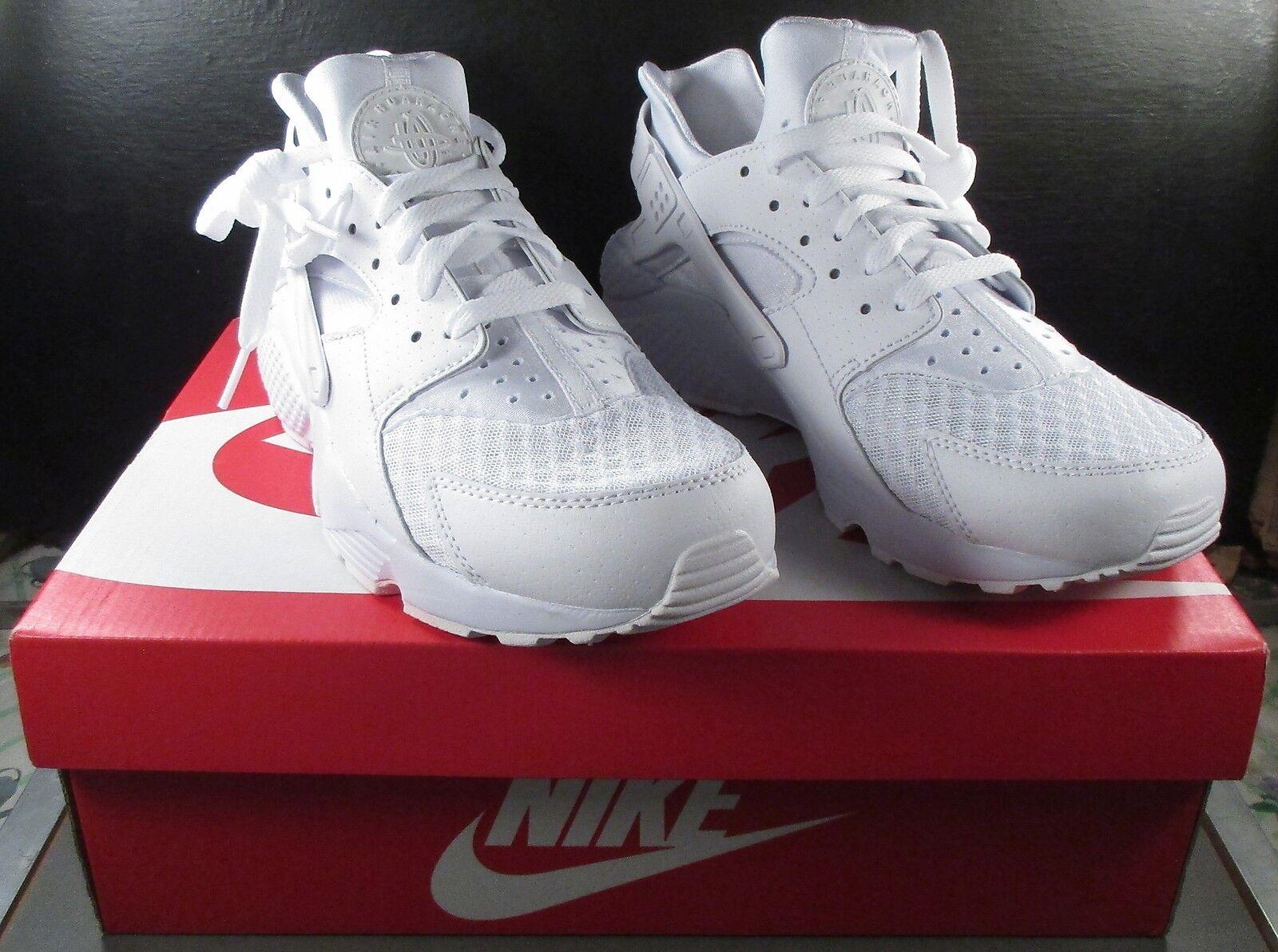 1337e4ac3a1 New Nike Air Huarache White Pure Platinum Platinum Platinum Running Shoes  Sneakers 318429-111 Sz