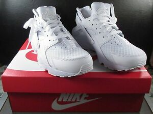 e3e85e5b898 New Nike Air Huarache White Pure Platinum Running Shoes Sneakers ...
