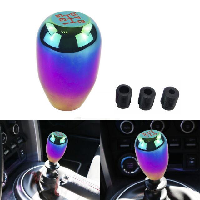 NEO CHROME Universal Car 5 Speed Aluminum Shift Knob Manual Gear Stick Shifter.