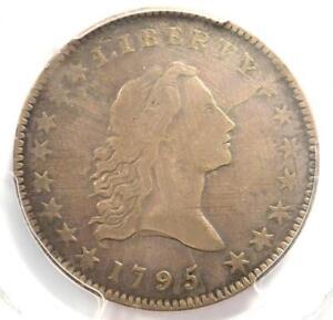 1795 O-127a Small Head Flowing Hair Half Dollar 50C - PCGS VF Detail - Rarity-6!