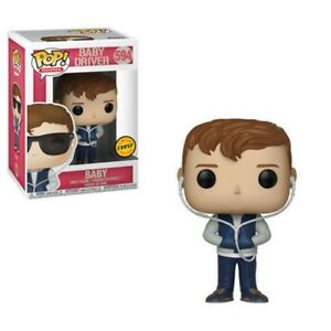 Funko-POP-Movies-Baby-Driver-Baby-594-LIMITED-CHASE-VARIANT-VERSION-New