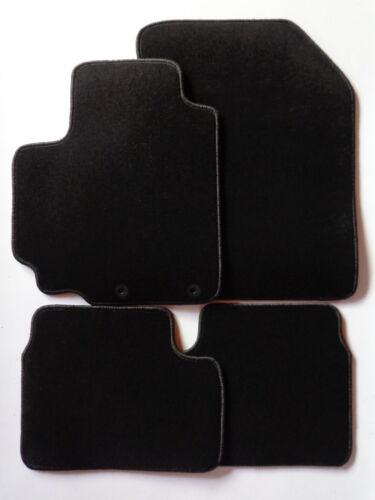 Autoteppiche Fußmatten für Suzuki Swift Typ FZ//NZ ab 2010-schwarz NEU