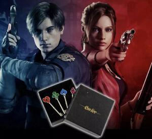 Biohazard Resident Evil 2 3 Keys Remake Prop R.P.D  Precinct Leon Kennedy Claire