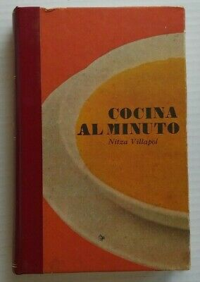 Nitza Villapol Cocina Al Minuto Cuban Recipe Book Cooking 1980