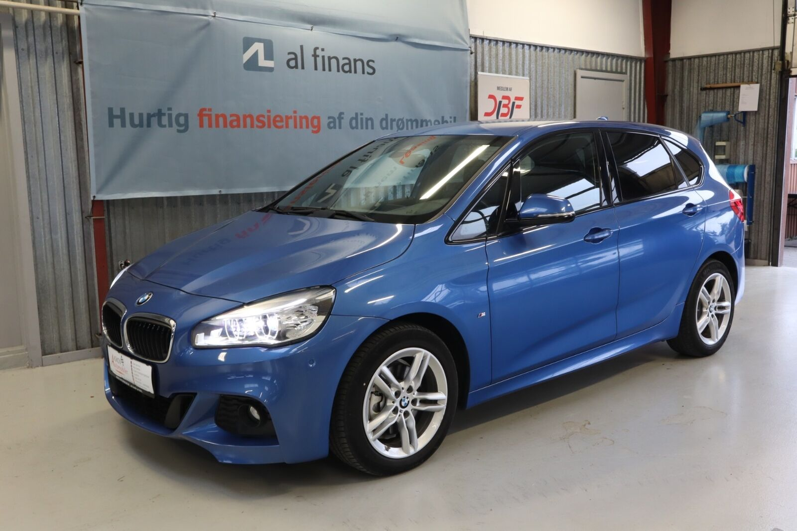 BMW 220d 2,0 Active Tourer M-Sport aut. 5d