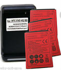 3 X Replacement Battery and AC USB Wall charger for Sprint HTC EVO 4G PC36100