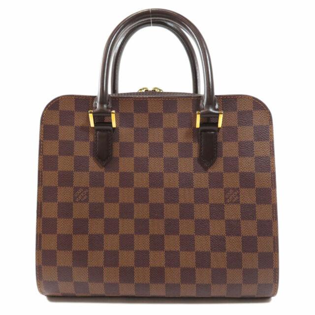 LOUIS VUITTON  N51155 Handbag Triana Damier Ebene Damier canvas