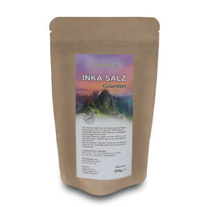 INKA SALZ Sonnensalz aus Peru 500g - Original INKANATURA  -  Körnung 1-3 mm