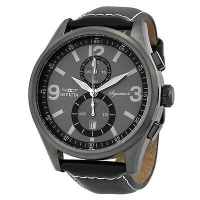 Invicta Signature II Elegant Grey Dial Chronograph Mens Watch 7419