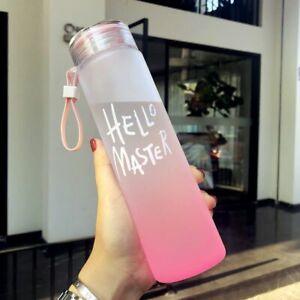 Sealing Outdoor Water Bottle Drinkware Leak Proof Camping Drink 500ml