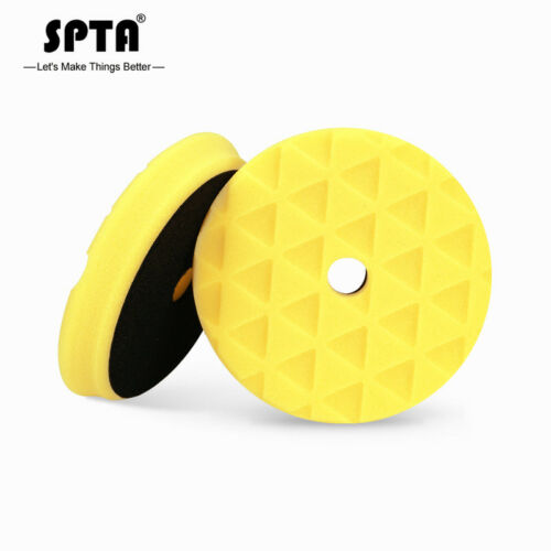 SPTA 6inch Mix Hardness Buffing pads Polishing Pads Suitable for 5-inch trays