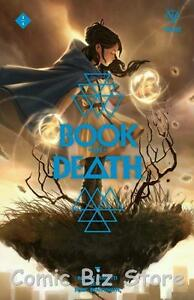 BOOK OF DEATH #1 (2015)  KEVIC-DJURDJEVIC COVER D VARIANT COVER VALIANT