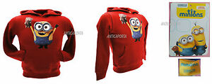 Sweat Ourson Bobsleigh Minions Tim Original Rouge Sweat shirt AAwqO6T