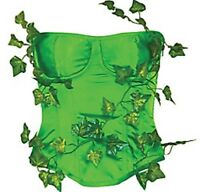 Batman Poison Ivy Bustier Deluxe - Medium / Large -new
