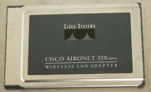 Cisco-Aironet-350-AIR-LMC352-Wireless-LAN-Adapter-Cardbus-Adapter-Network-Card
